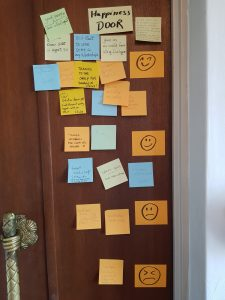 Example of Happiness Door