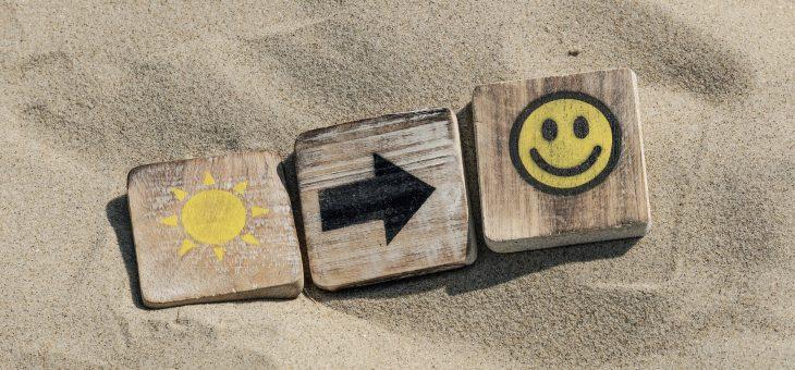 「3つの○○で、幸福度を上げる」